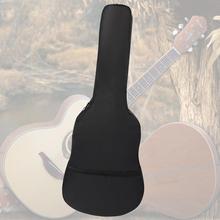 Портативный 38/40/41 дюймов Чехол для акустической гитары сумка рюкзак 420D Водонепроницаемый чехол Gig покрытия с плечевым ремнем Аксессуары для гитары
