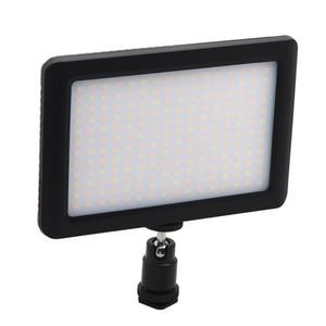 Image 1 - LED 一眼レフカメラビデオカメラ連続光、バッテリーと USB 充電器、キャリーケース写真写真ビデオスタジオ黒