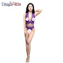 E&A New Sexy Lingerie Women Lady Bodysuit Lace Costume Hot Erotic Teddy Female Nightwear Porno Underwear Mesh Sleepwear