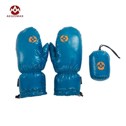 Aegismax 95% White Goose Down Gloves Windproof Warm Full Fingers Outdoor Hiking Camping Winter Sleeping Warm 4 Colors