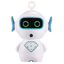 Children Intelligent Accompany Toy Smart RC Robot Interactive Voice Play Music APP Voice Chat Storytelling for Kid Birthday Gift(China)