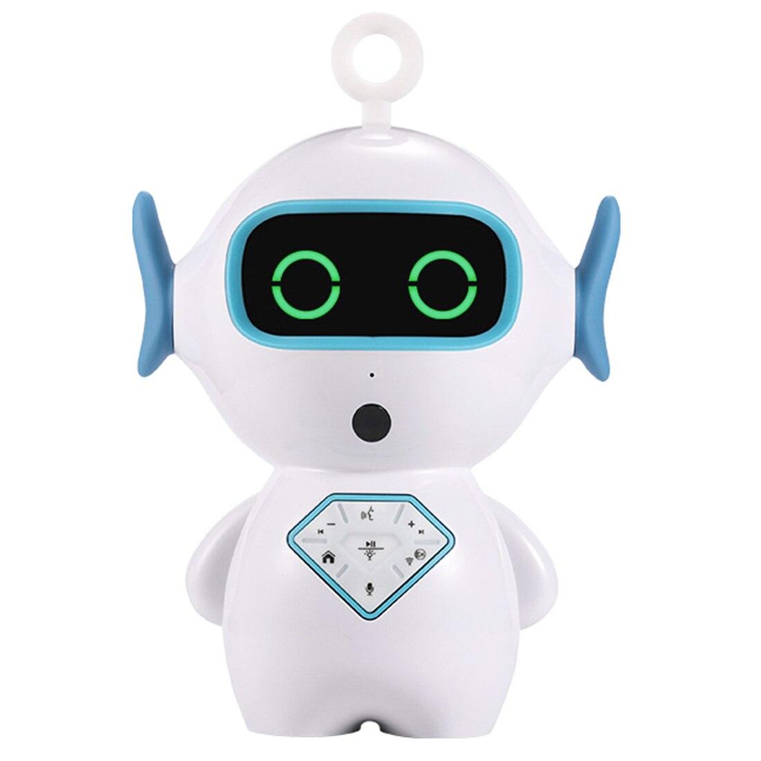 Enfants Intelligent accompagner jouet Intelligent RC Robot interactif voix jouer musique APP voix Chat conte pour enfant cadeau d'anniversaire