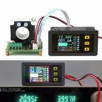 Multímetro DYKB 0-500A Hall Coulomb multímetro LCD CC bidireccional voltaje digital corriente capacidad de alimentación batería Monitor carga