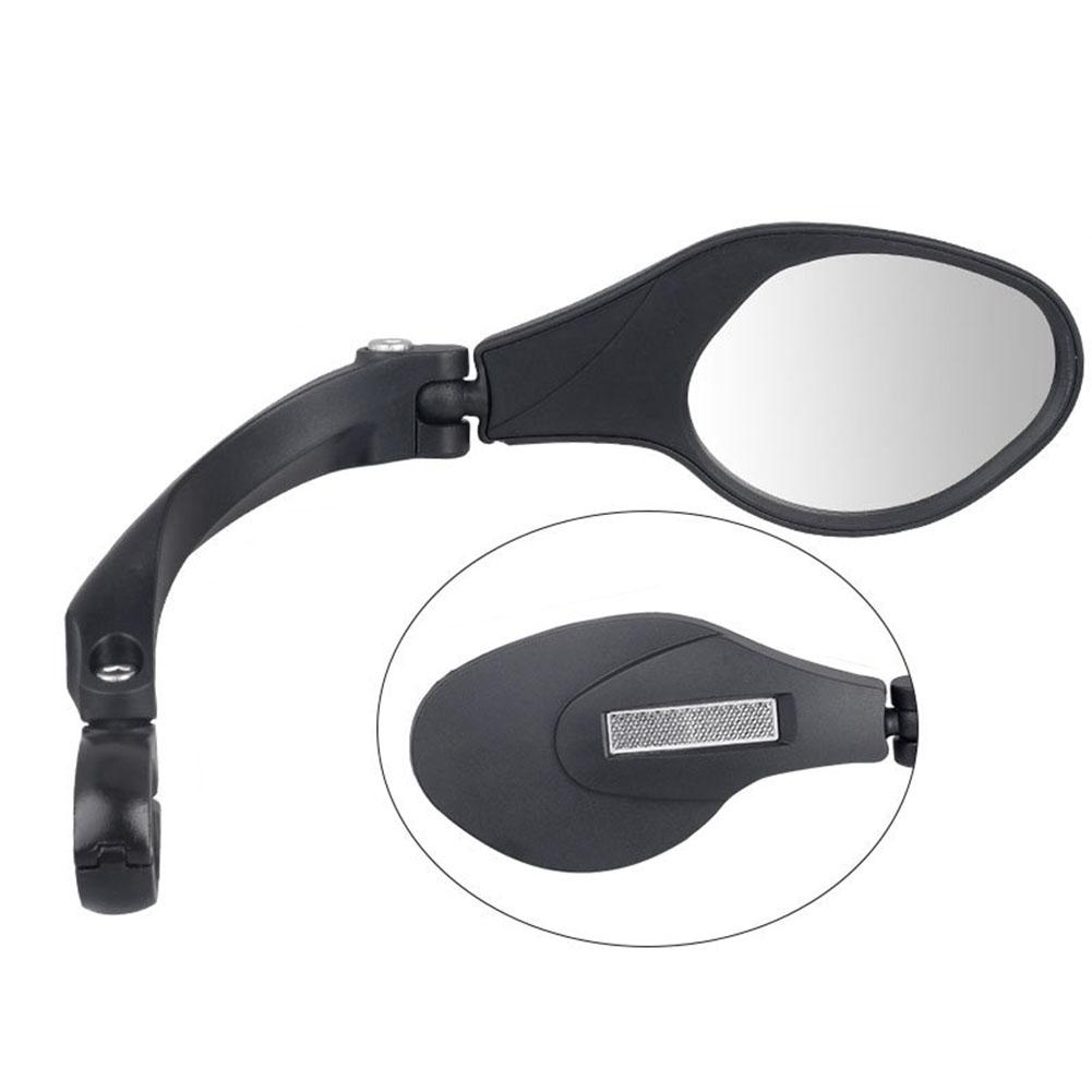 New 1 PC Bike Mirror Universal Stainless Steel Lens Handlebar MTB Bicycle Mirror Safe Mirror Rearview Bicycle Bike Accessories