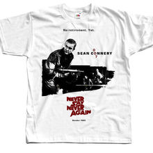 8f95f45b5 Never Say Again James Bond T Shirt All Sizes S To 4Xl Sean Connery