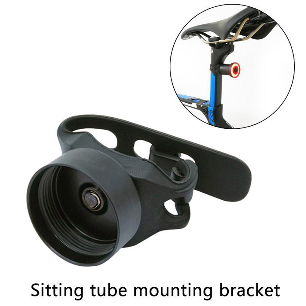 Support Bicycle Taillight Durable Holder Mounting Seat Rod Bracket Cushion Stand Accessories Tube Aluminum Alloy For Xlite100