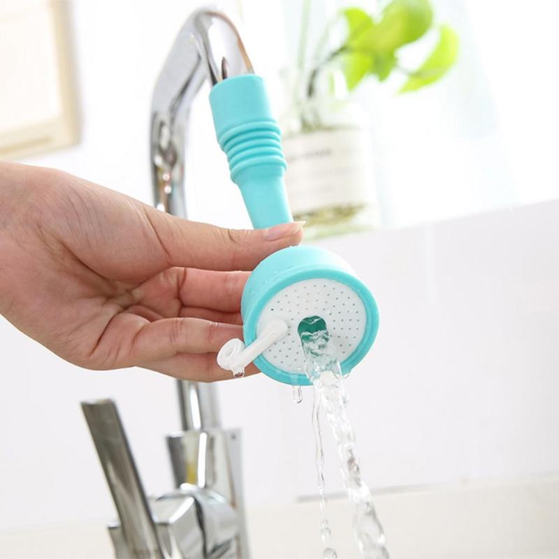 Water-saving Silicone Kitchen Faucet Filter Shower Water Rotating Spray Tap Water Filter Valve For Kitchen Bathroom Accessories