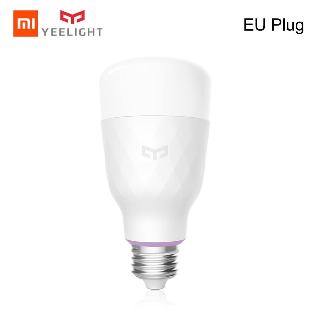 EN VENTE! Xiao mi Yeelight RGB LED ampoule intelligente couleur E27/E26 ampoule commande vocale mi ampoules intelligentes téléphone télécommande