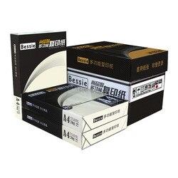 A4 70G/80G 1000 Vellen volledige houtpulp fotokopie maten gedrukt wit papier Fabrikanten groothandel kantoor papier scratch papier