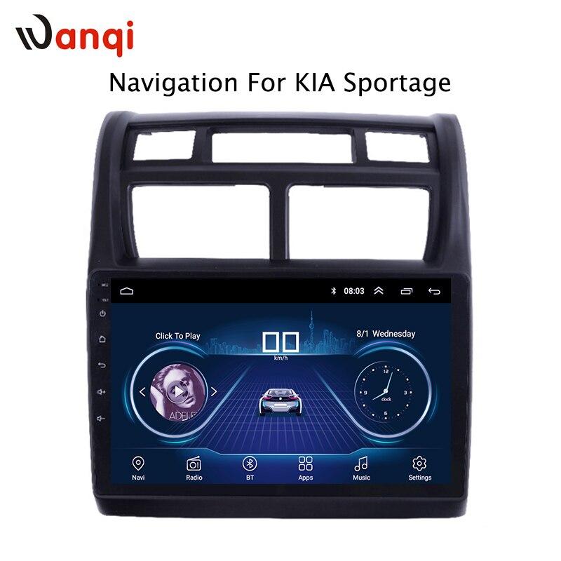 Venta caliente 9 pulgadas Android 8,1 coche reproductor de Dvd Gps para KIA Sportage 2007-2013 incorporado de Video de Radio de navegación bt Wifi