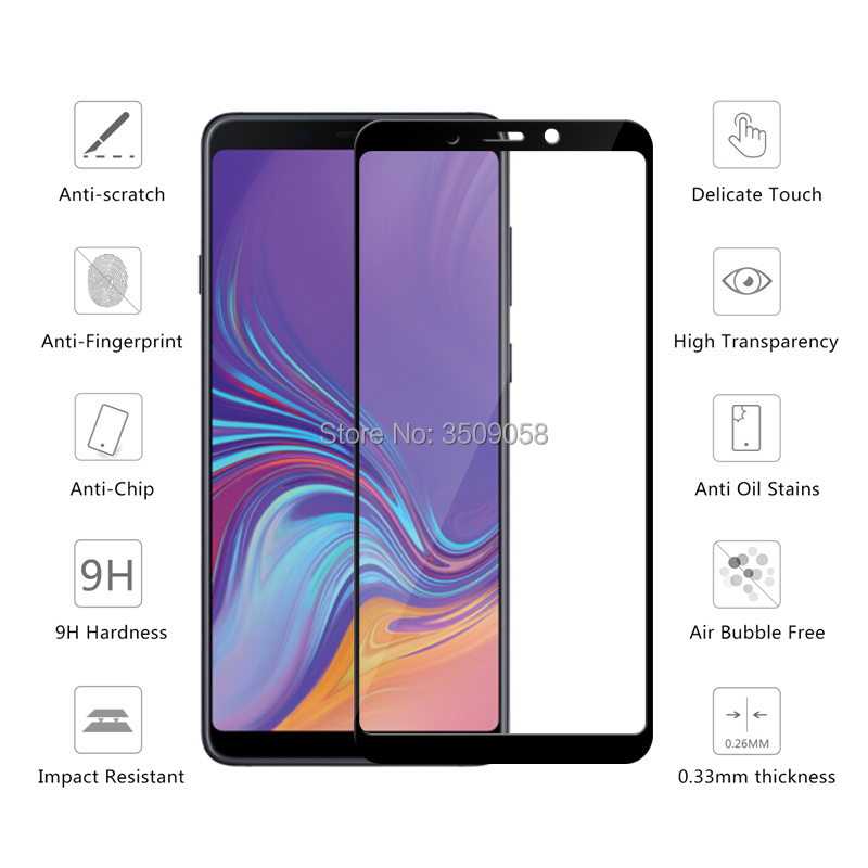 US $1.34 32% OFF|Cover Protective Glass For Samsung Galaxy A9 2018 A9200 Screen Protector Samsun Glaxy A9 Star Pro A9s SM A920FDS Tempered