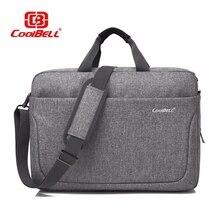 Cool Bell Men's Women Bag 17.3 inch Top-Handle Bag Lady Handbag Male Shoulder Messenger Bag Business Tote Bag Fashion Briefcase