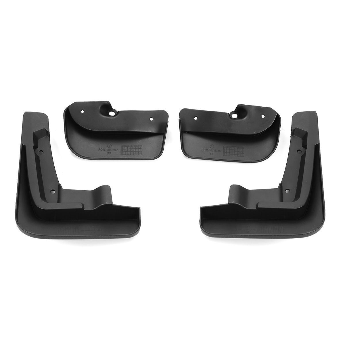 Image 3 - Car Mud Flaps Splash Guards for Fender Mudflaps Mudguards For VW Transporter T6 Caravelle 2016 2017 2018 Mulivan 2017 2018-in Mudguards from Automobiles & Motorcycles