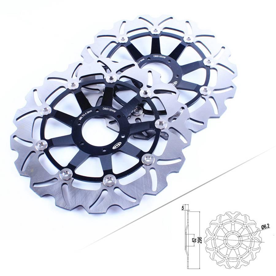 Для Honda GL1800 Goldwing 2001 2015 CBR900RR 1992 1993 VFR 800 1998 2001 ротор дисковых передних тормозов черный