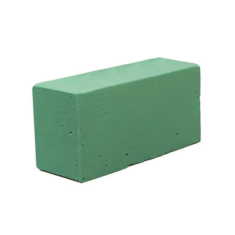 Green Color Floral Foam Brick Flower Holder For Party Wedding Florist Fresh Flower Basement Arranging Design DIY Crafts Supplies image