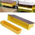 Kunststoff Biene Pollen Falle Collector Für Imkerei Bienenzucht Werkzeuge Beehive Bee Hive Eingang Ausrüstungen Gelb Home Garten Werkzeug-in Imkerei-Werkzeug aus Heim und Garten bei