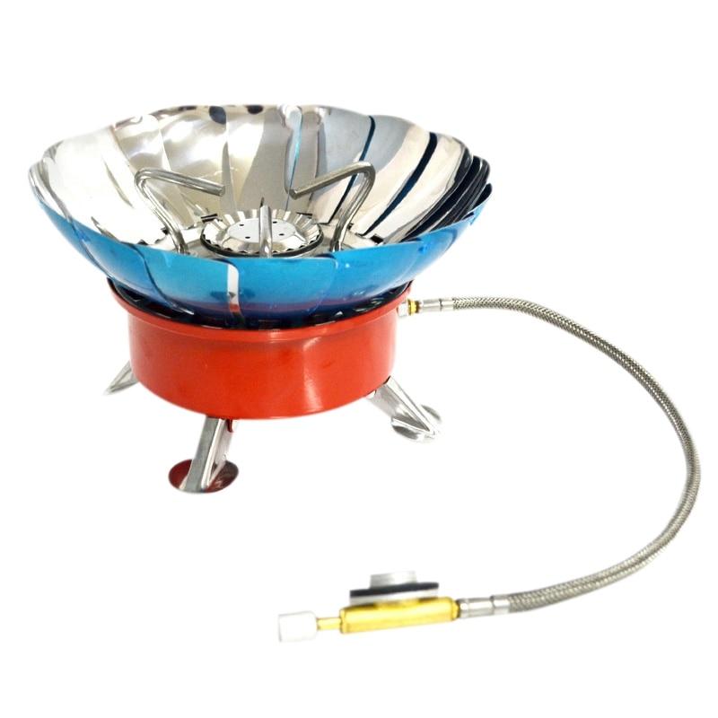 4 tipos de estufa a prueba de viento cocina utensilios de cocina quemadores de Gas para Camping Picnic barbacoa Boquilla para Quemador de aceite, chorro de Quemador de aceite, boquilla de aceite de cono completo siphone, inyector de aceite de quemador, boquilla de atomización de aire
