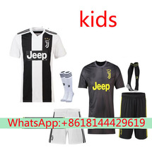 39cdbc665 2018 2019 kids juventuses soccer jersey dybala Higuain buffon football  shirt best thai quality free shipping
