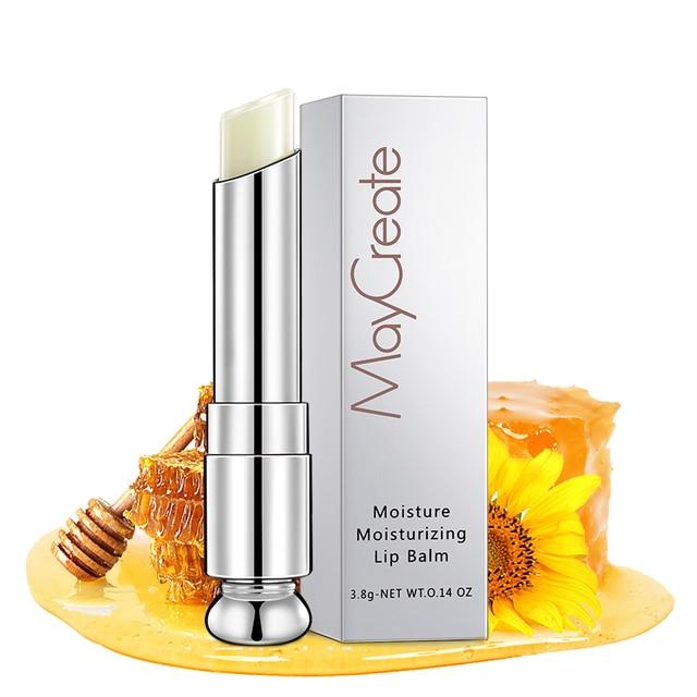 May Create  Professional Lips Make Up Waterproof Balm Lipstick Moisturizer Lip Balm Brand Makeup 3