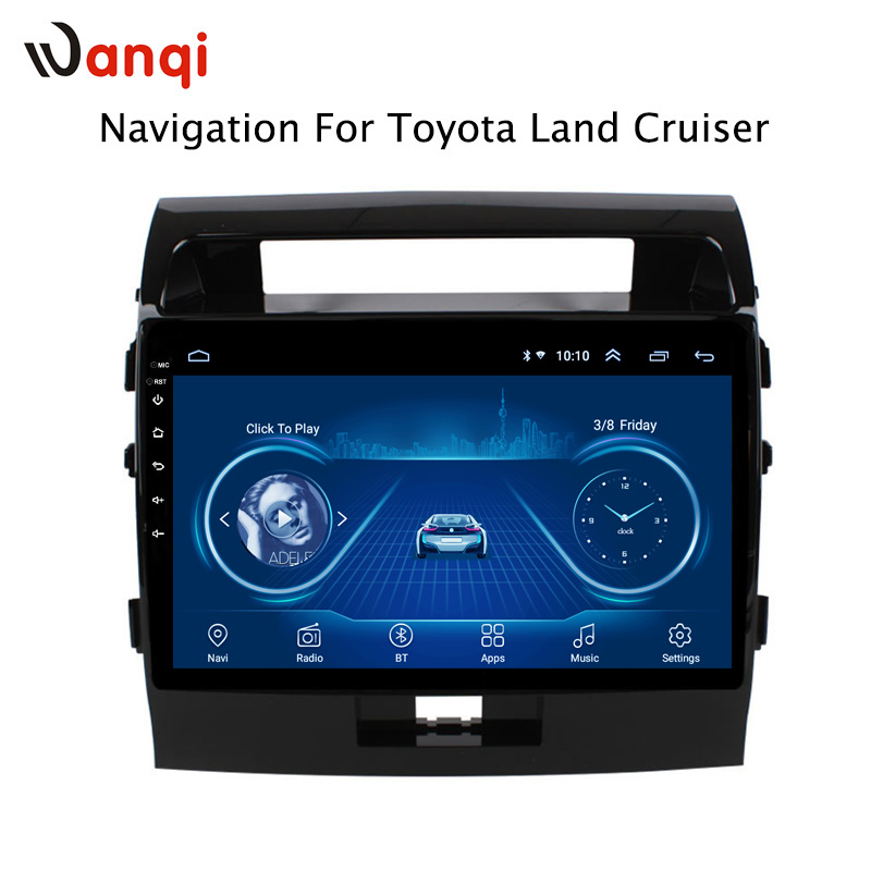 10.1 inch Android 8.1 Car DVD GPS for Toyota land cruiser 2007-2012 Navigation System Stereo Audio Radio Video Bluetooth10.1 inch Android 8.1 Car DVD GPS for Toyota land cruiser 2007-2012 Navigation System Stereo Audio Radio Video Bluetooth