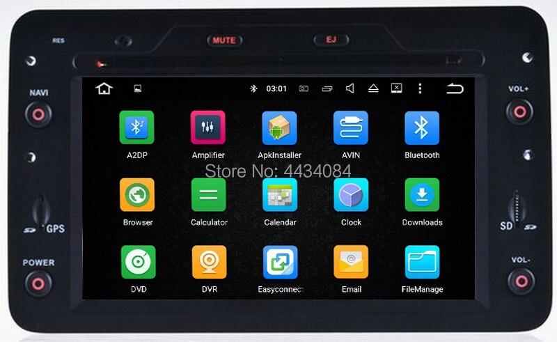 Système de radio stéréo de médias gps automatique Ouchuangbo android 9.0 pour Alfa Romeo Spider (à partir de 2006) avec Bluetooth wifi usb swc 4 + 32