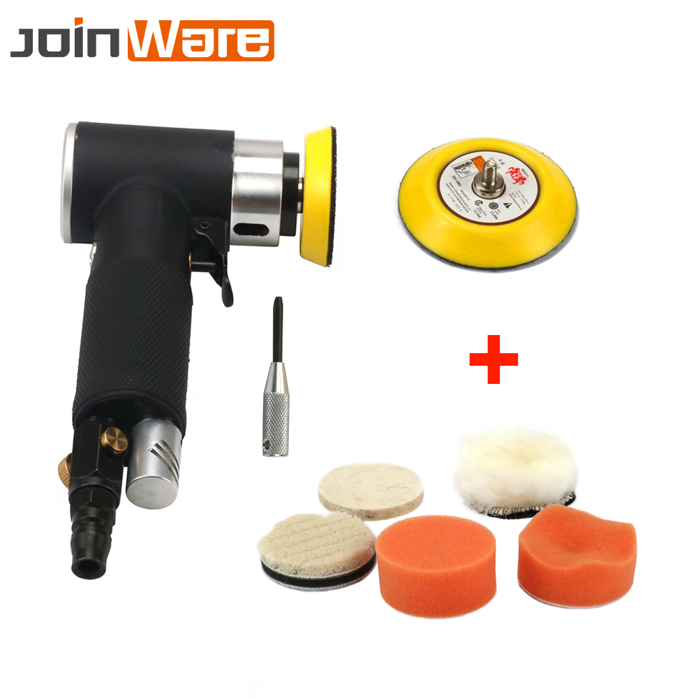 Air Sander Orbital Polisher Machine Pneumatic Polishing for Auto Body Car Tool 2