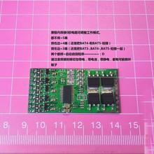 16A Pin BMS Ban Bảo Vệ Với Cân Bằng 3 S 4 S 5 S Gói Li ion Pin Lithium