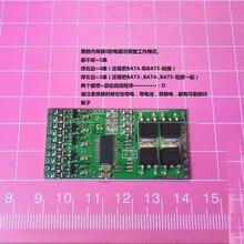 16A batería Placa de protección BMS con equilibrio 3s 4s 5s paquetes de Li Ion de la batería de litio