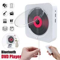 CD Player Wall Mountable bluetooth Portable Home Audio Boombox HDMI DVD FM USB HiFi Speaker Music Player with Remote Control
