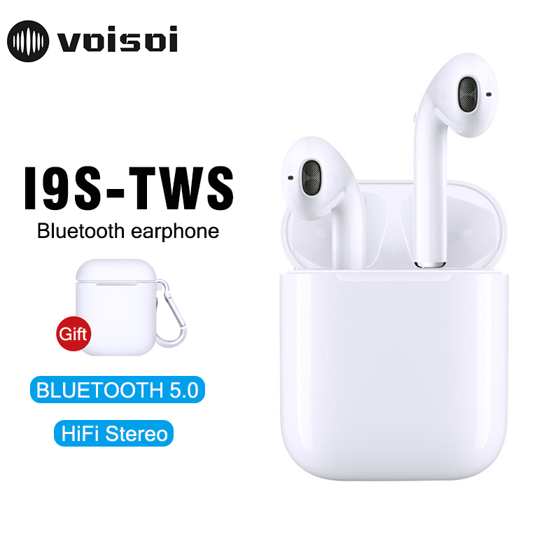 I9s TWS Mini Wireless Bluetooth Earphone Stereo Earbud Headset With Charging Box Mic For Iphone Android All Smart Phone Tws I9sI9s TWS Mini Wireless Bluetooth Earphone Stereo Earbud Headset With Charging Box Mic For Iphone Android All Smart Phone Tws I9s