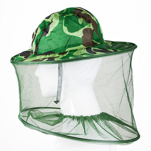 Image 2 - Outdoor Professional Mosquito Bug Insect Bee Resistance Net Mesh Head Face Protector Hat Cap-in Fishing Caps from Sports & Entertainment