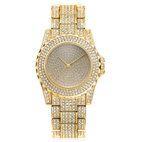 Watch Steel Diamond Set Ms Watch Stars Full of Crystals Ms Watch Manufacturer of Merchandise on Hand of a Generation of Fat