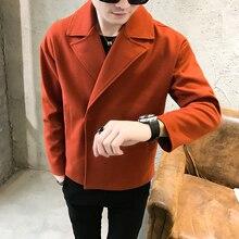 2019 Spring Trend Man Solid Color Jacket clothes jaket men coats Free shipping цены онлайн