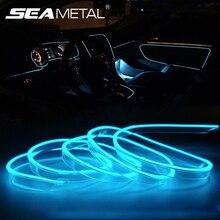 Автомобиль неоновый эл. проводка привод холодной лампы авто холодные огни Гибкая ленточная лампа для Интерьер 12 V инвертор для световода Авто Атмосфера свет