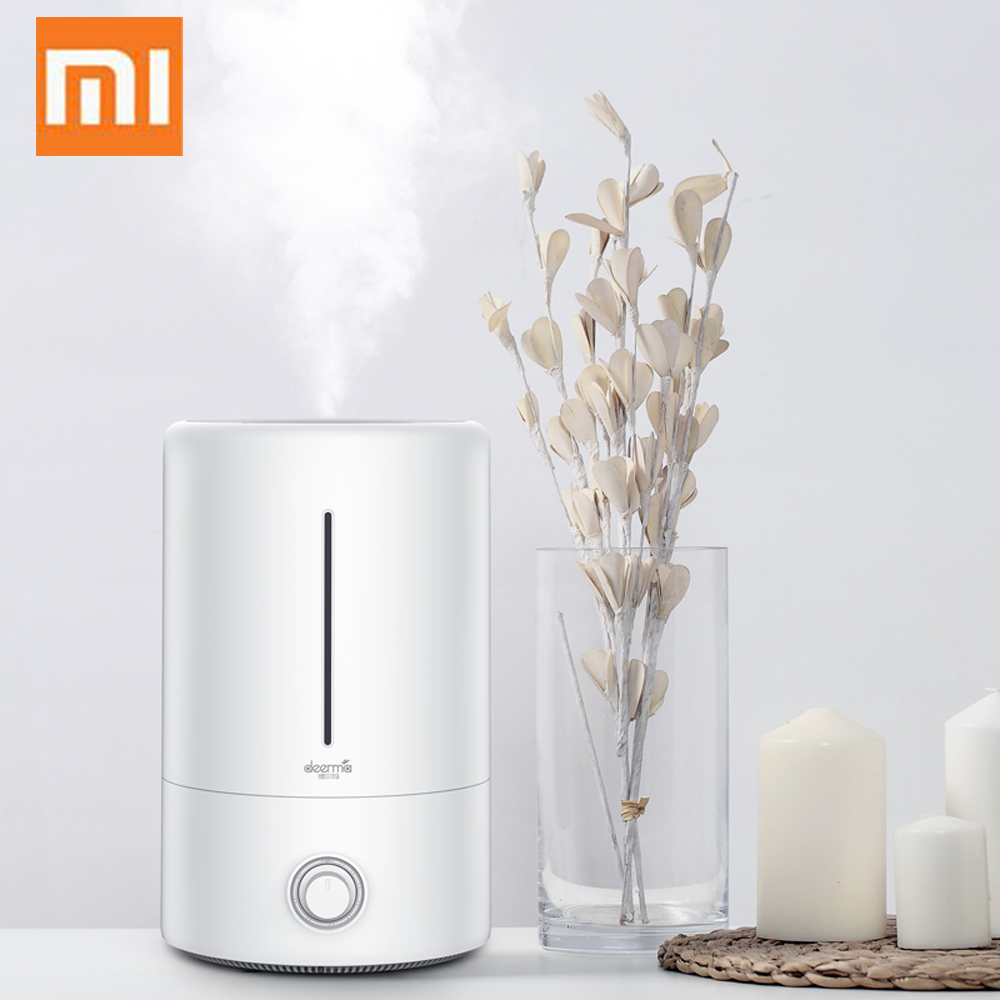 Original Xiaomi Home Deerma 5L ขนาดใหญ่ความจุครัวเรือน Mute Air Humidifier อัลตราโซนิกอากาศความชื้น Purifying Humidifier Aroma-ใน เครื่องทำความชื้น จาก เครื่องใช้ในบ้าน บน AliExpress - 11.11_สิบเอ็ด สิบเอ็ดวันคนโสด 1