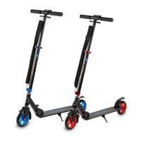 Резиновые колеса педаль складной скутер шагомер для фитнеса двухколесный сплав складной взрослый скутер