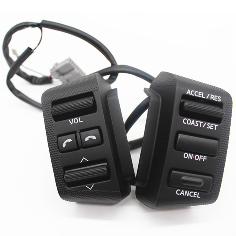 Steering Wheel Cruise Control Button For Nissan For Old Teana 2004 2007 J31 Switch Volume Music Audio Car Accessories