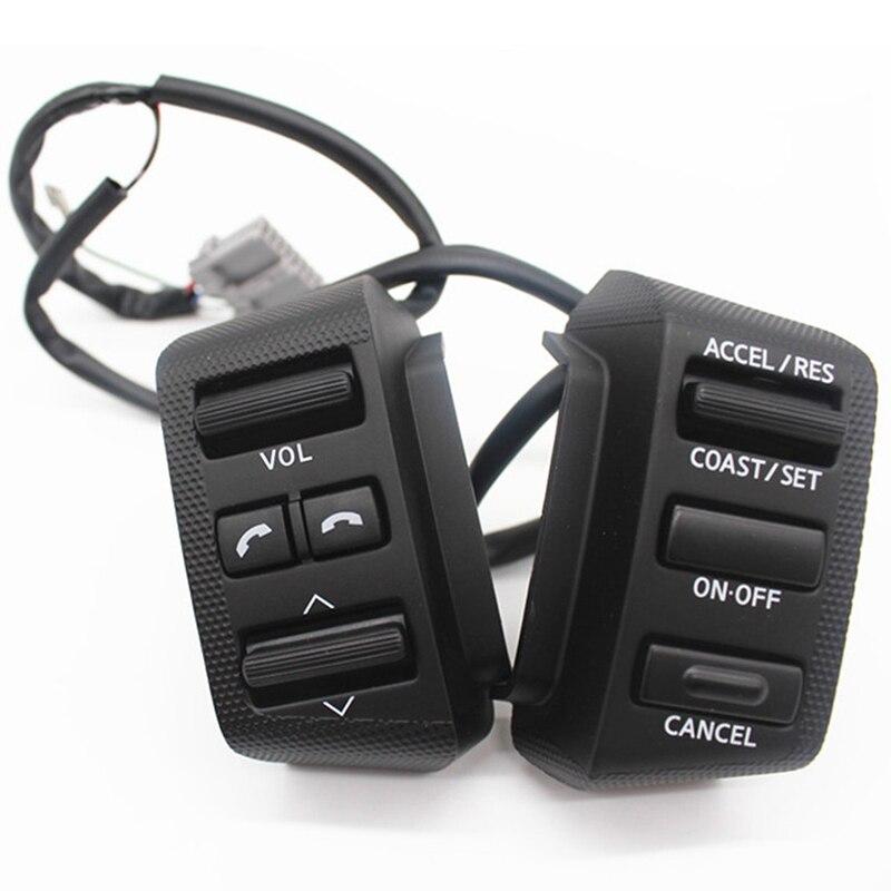 Volante Botão de Controle de Cruzeiro Para Nissan Para Teana Velho 2004-2007 Interruptor de Volume J31 Áudio Música Acessórios Do Carro
