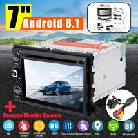 Dvd плеер автомобиля Android 8,1 заднего вида Камера gps FM 1080 P воспроизведения видео плеер bluetooth для Ford Focus края F150 F250 F350