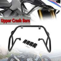 New Front Upper/Lower Motorcycle Engine Guard Crash Bar Protector Steel For BMW G310R 2017 2018 G310GS 2018 Engine Bumper Guard