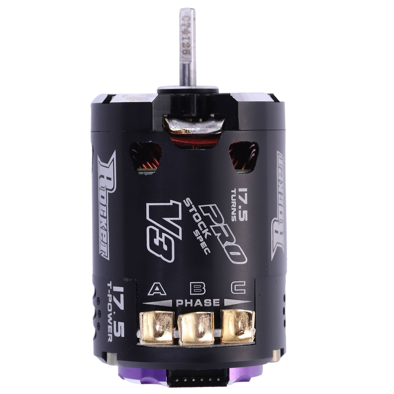 SURPASS HOBBY V3 540 17.5T Sensored SPEC RC Brushless Motor For 1/10 RC Racing Car Truck RC Car Parts Accessories Purple Black