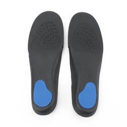 Лидер продаж стельки унисекс без каблука для ног, ортопедический арки Поддержка Чистка Pad Стельки для бега мягкие вставки для Для мужчин