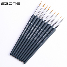 Hook-Line-Brush Oil-Painting Watercolor Drawing-Art-Tools Wooden Different-Size EZONE