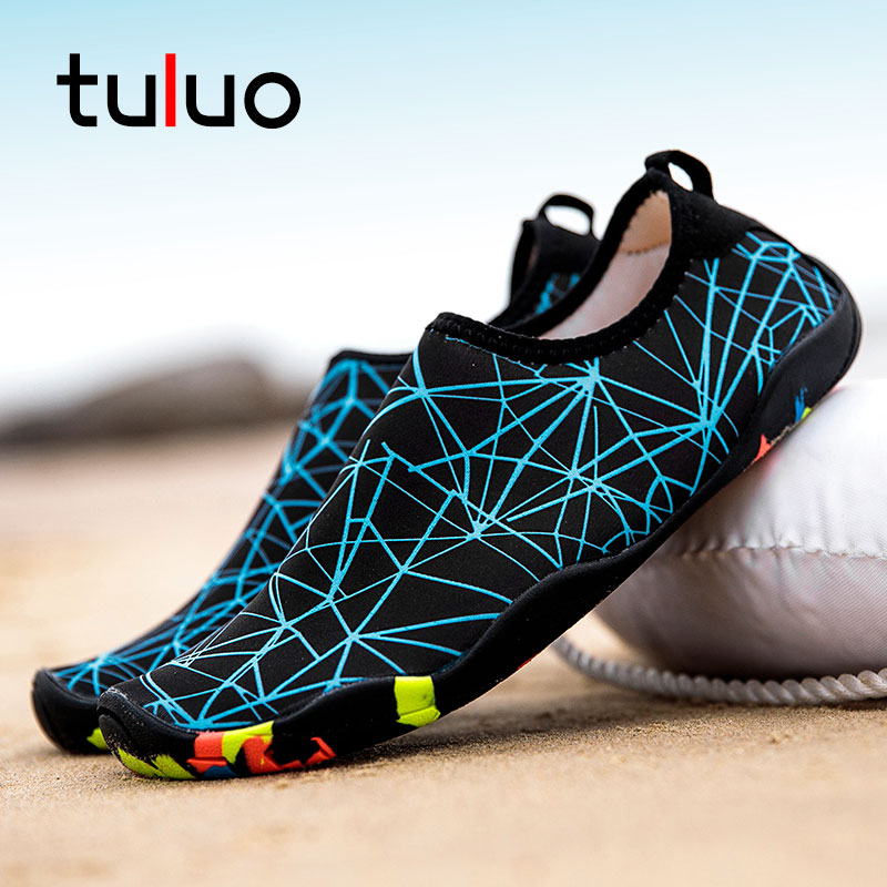 TULUO Hot Sale Water Shoes Men Women Summer Unisex Beach Swimming Barefoot Quick Drying Non-Slip Soft Male Sneakers Yoga ShoesTULUO Hot Sale Water Shoes Men Women Summer Unisex Beach Swimming Barefoot Quick Drying Non-Slip Soft Male Sneakers Yoga Shoes