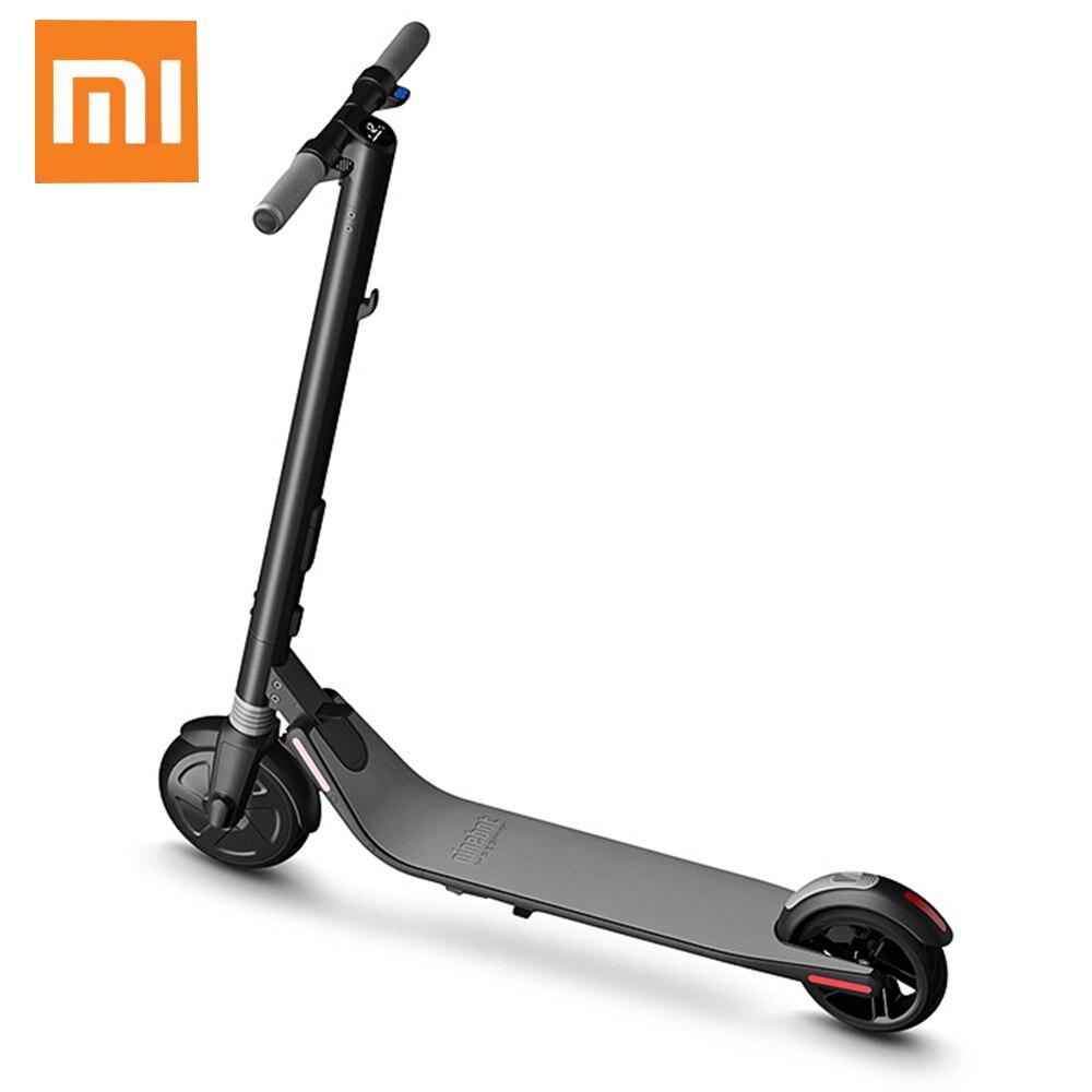 Xiaomi Mijia Ninebot Segway ES1 No 9 Scooter Électrique Pliant de Contrôle Intelligent D'app IP67 Imperméable 8/7. 5