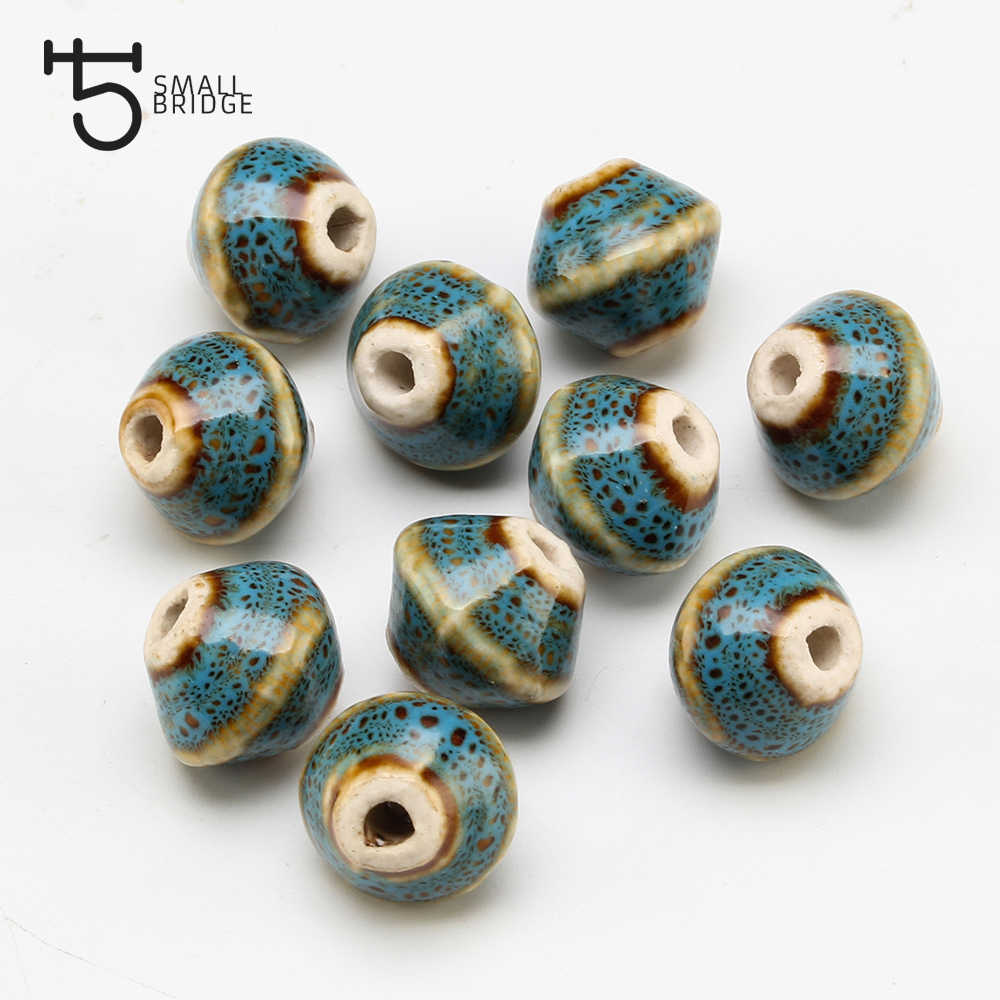 Flower Glaze Porcelain Ceramic Beads