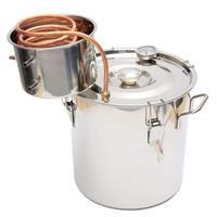 18L нержавеющая сталь медь самогон этанол спиртовой воды дистиллятор еще кипятильный дома варить винный бар DIY инструмент для изготовления