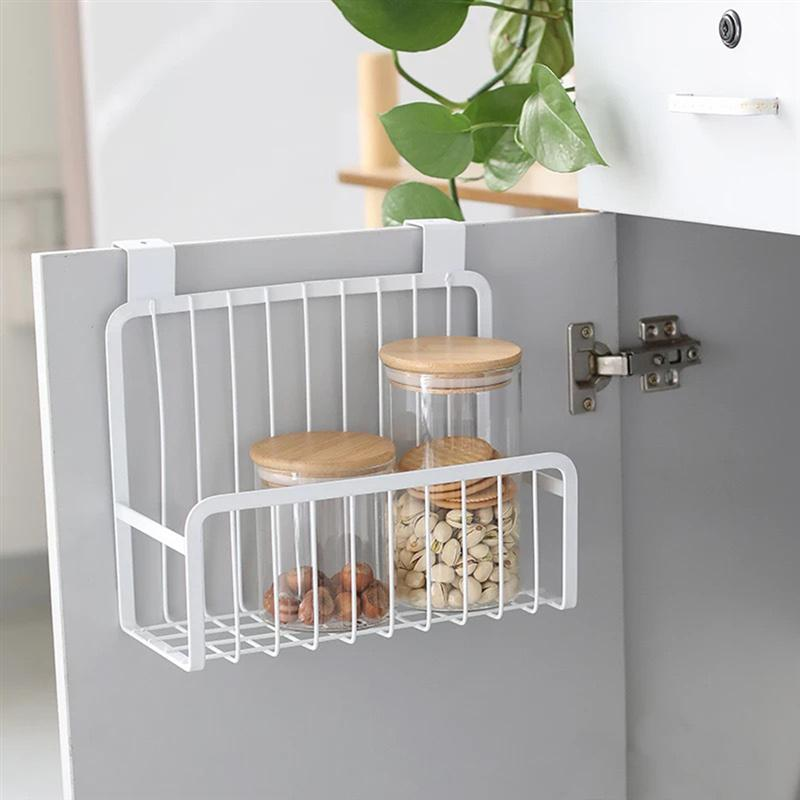 Kitchen Nail free Hanging Storage Bathroom Organizer ...