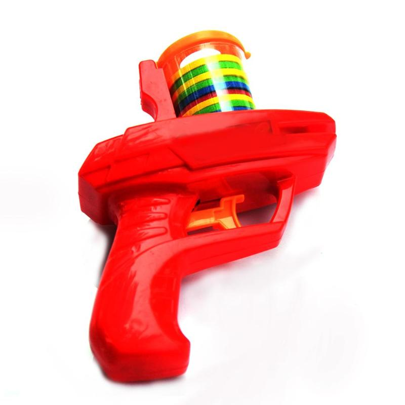 Children Toy Classic Flying Saucer Gun EVA Soft Bullet Outdoor Toys Birthday Gifts For Children Kids Toys Guns Toy