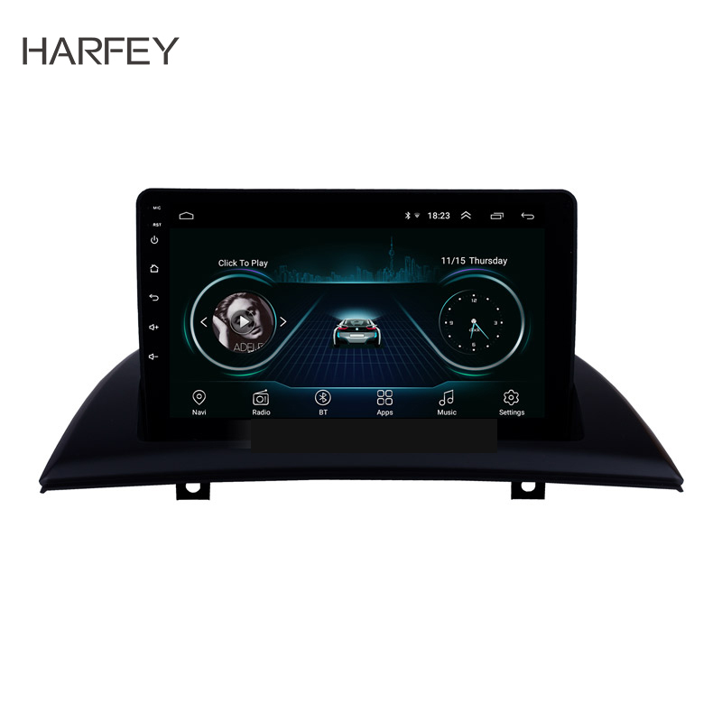 Harfey Android 8.1 9 clearance Car GPS navi Head Unit Player For 2004-2007-2012 BMW X3 E83 2.0i 2.5i 2.5si 3.0i 3.0si 2.0d 3.0dHarfey Android 8.1 9 clearance Car GPS navi Head Unit Player For 2004-2007-2012 BMW X3 E83 2.0i 2.5i 2.5si 3.0i 3.0si 2.0d 3.0d